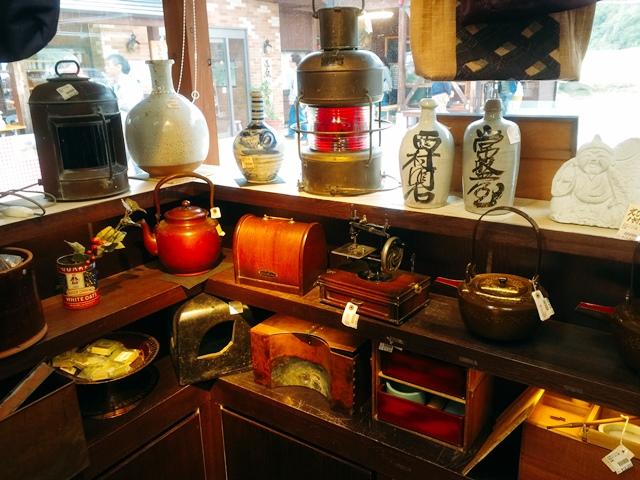 古道具の数々