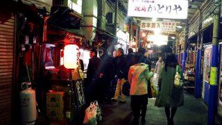 うまくて安い、昭和の居酒屋「かとりや」で焼き鳥と熱燗(川崎市溝ノ口)