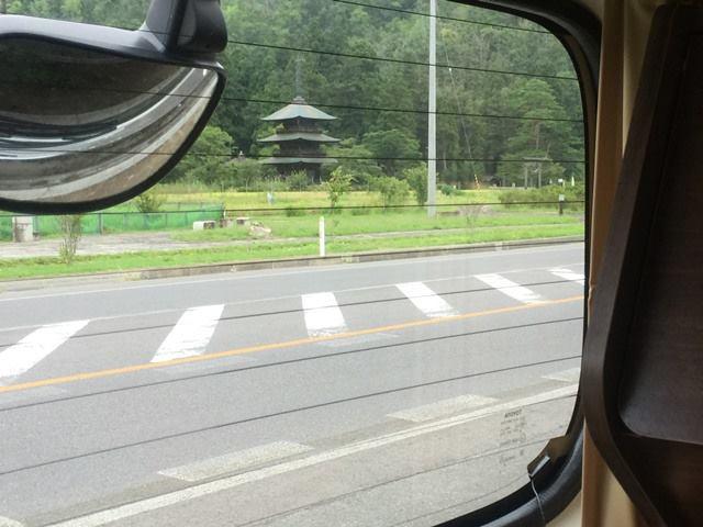 阿久津八幡神社の三重塔
