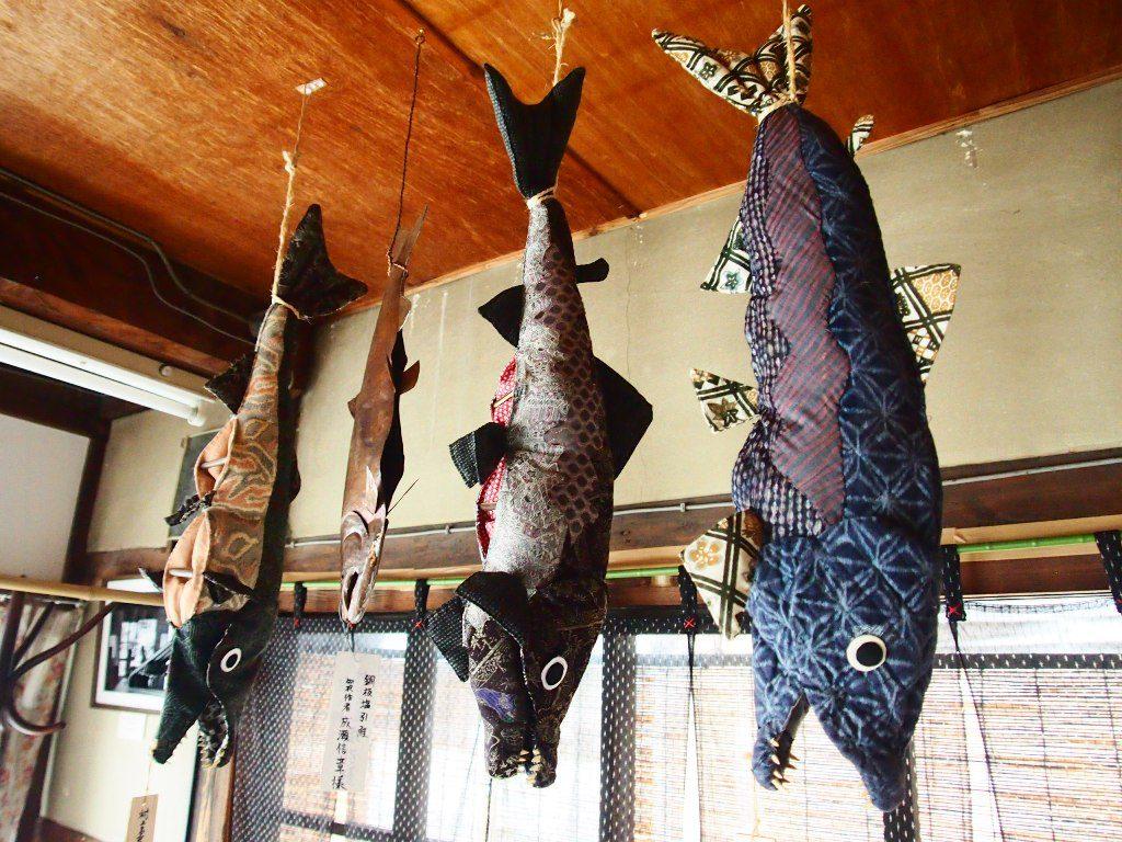 鮭の手芸品
