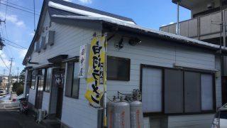田中屋の手打ちワンタン(福島県白河市)