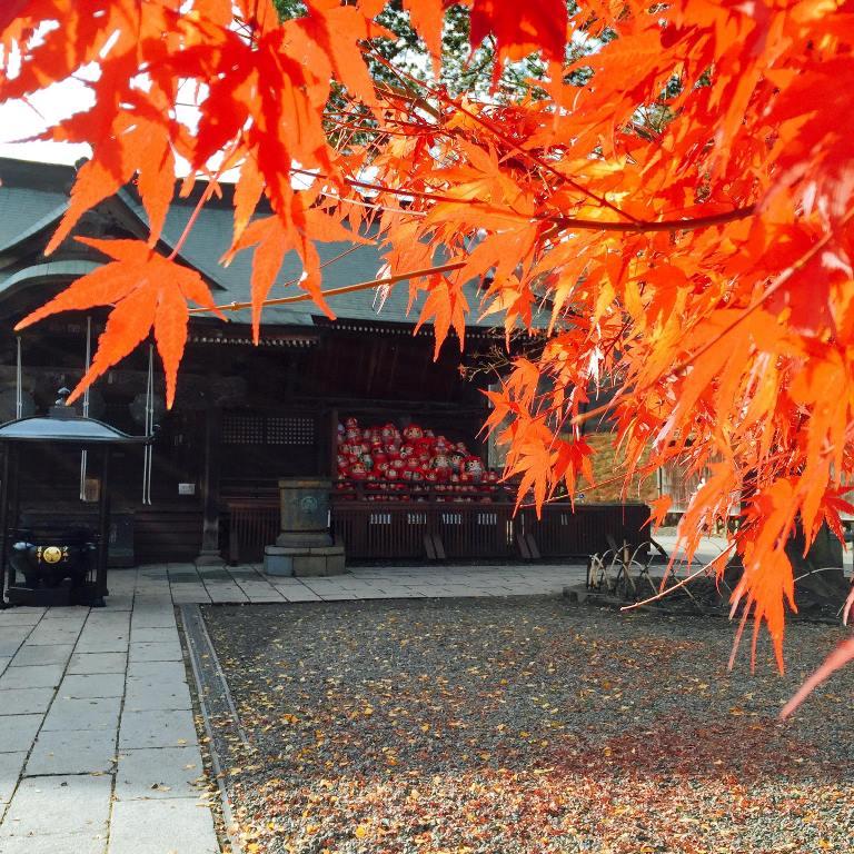 霊符堂と紅葉