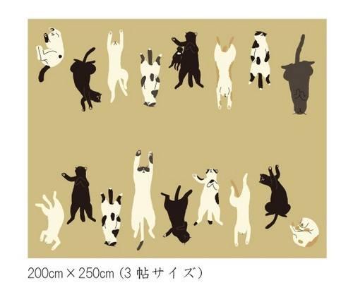 猫がらカーペット