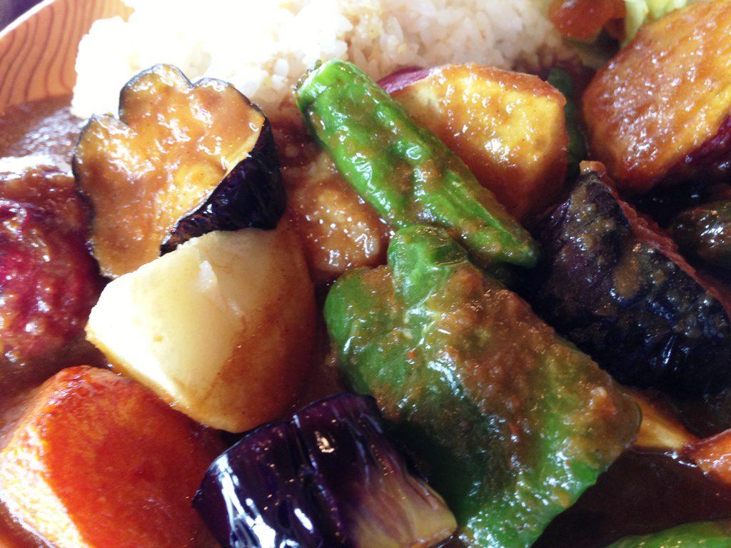 五穀米と夏野菜のカレー