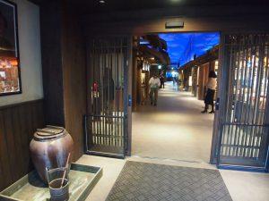 店舗の入り口