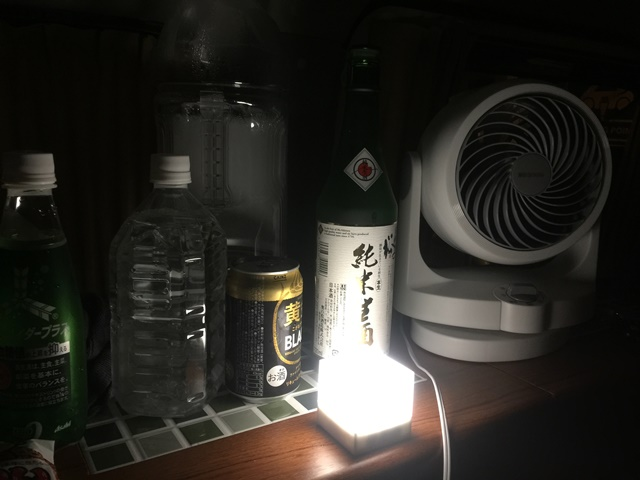 夜の飲み物