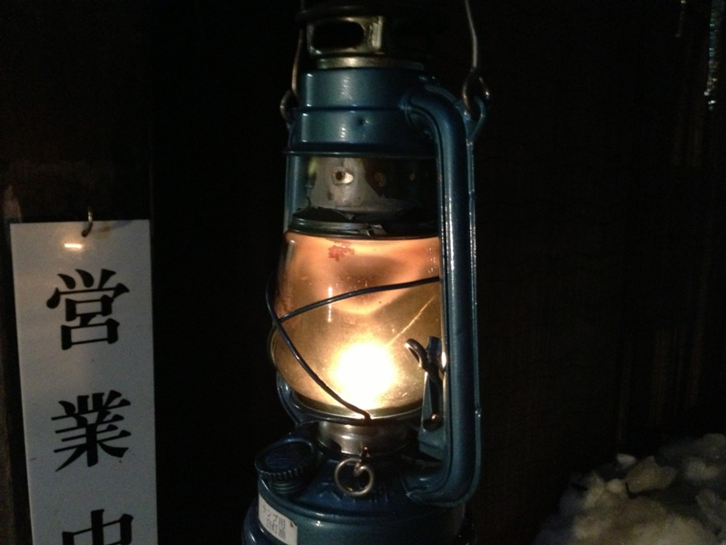 灯油ランプ