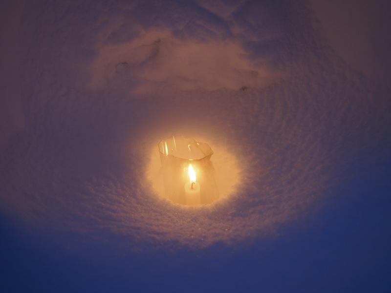 雪月火の灯