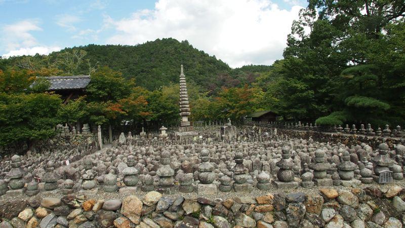 あだしの念仏寺 西院の河原