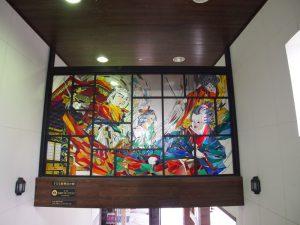 駅のステンドグラス