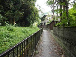 琵琶湖疎水に通じる道