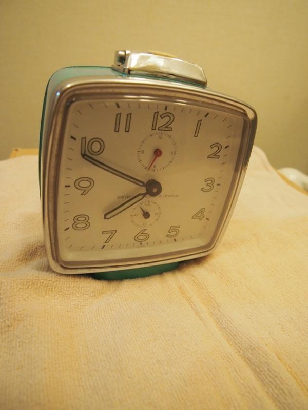 中古のゼンマイ時計