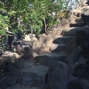 富士塚登山道