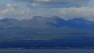樽前山から見る大パノラマ(北海道苫小牧市)