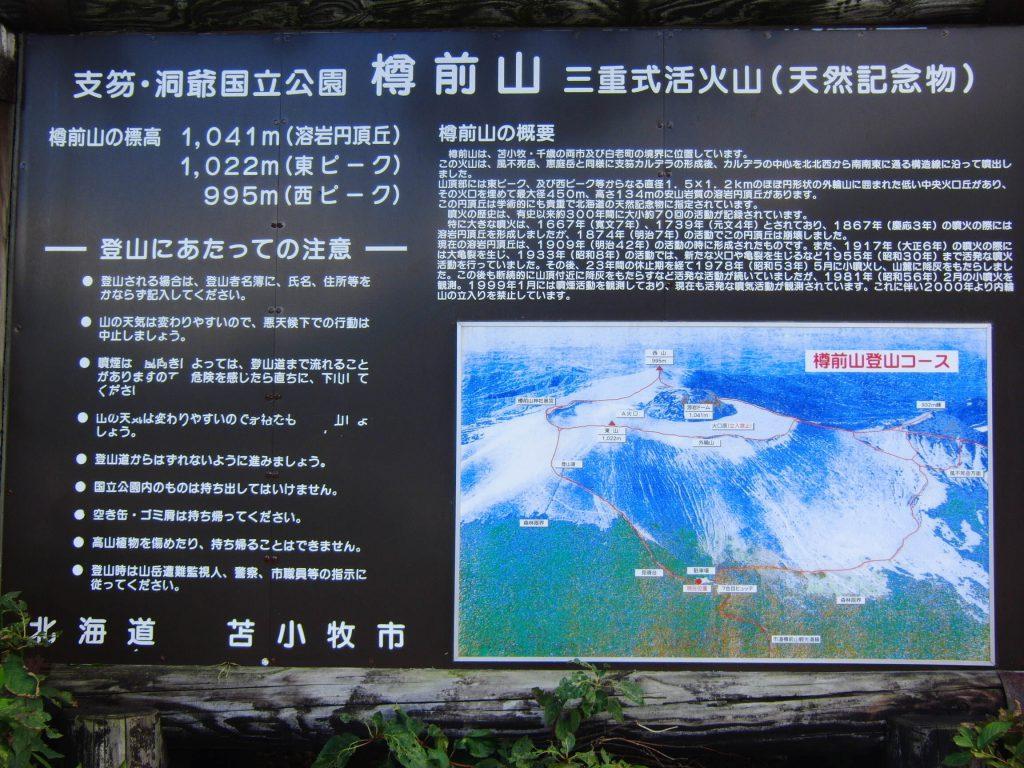 樽前山の説明