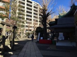 小野照崎神社境内