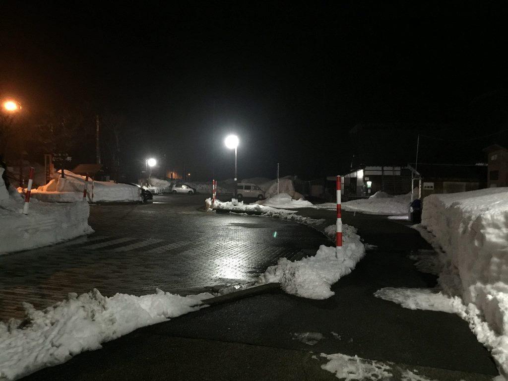 夜の道の駅