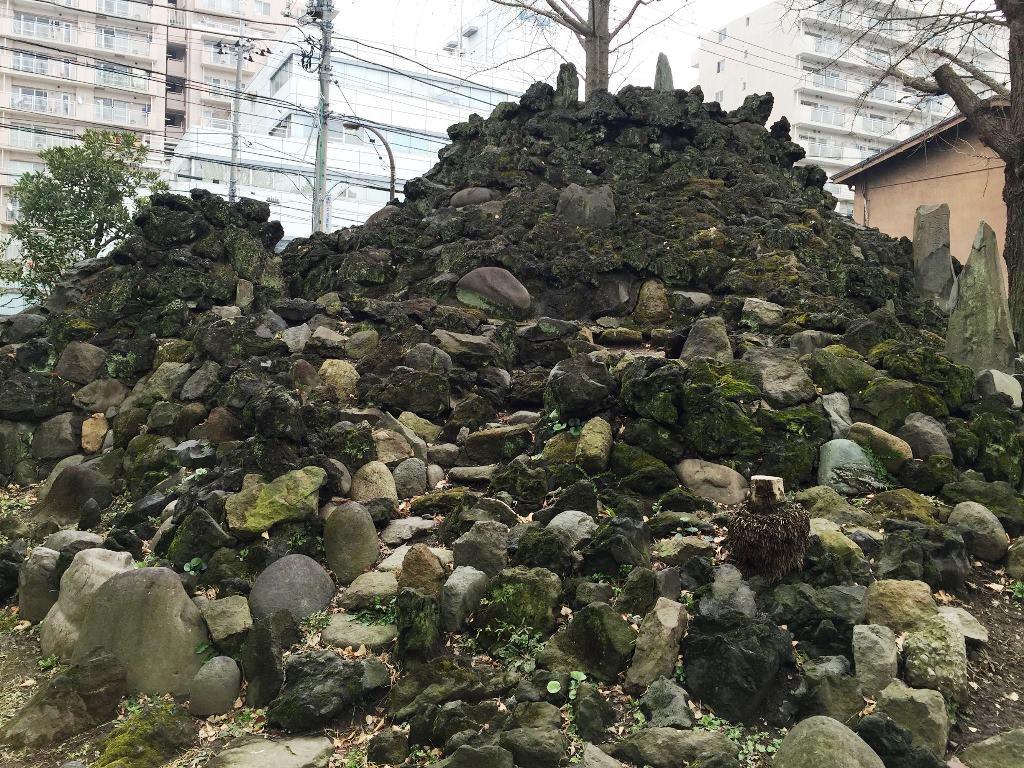 砂町の富士塚