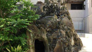 鐵砲洲稲荷神社の富士塚(東京中央区)