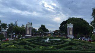 ルンピニー公園の大とかげ(タイ②)