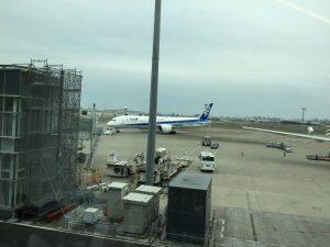 タイ行き飛行機