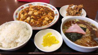 龍美のボリューム満点日替りランチ(名古屋・栄)
