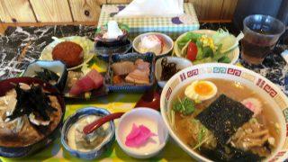 驚きのランチ 中華食菜シェイシェイ(福島・鏡石町)