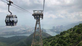 スリル満点のゴンドラ ゴンピン360(香港)