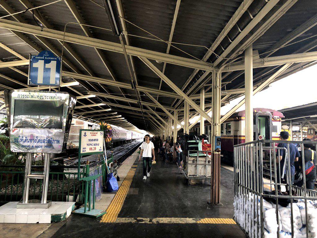バンコク駅ホーム