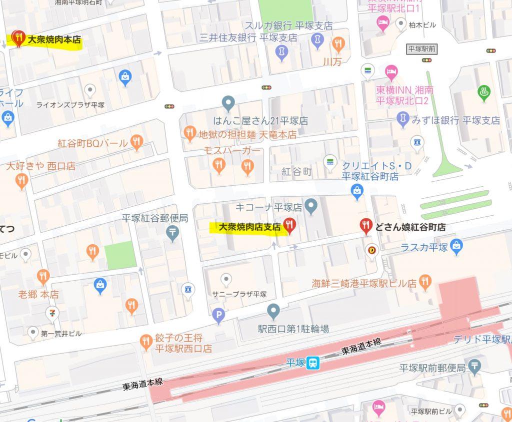平塚map