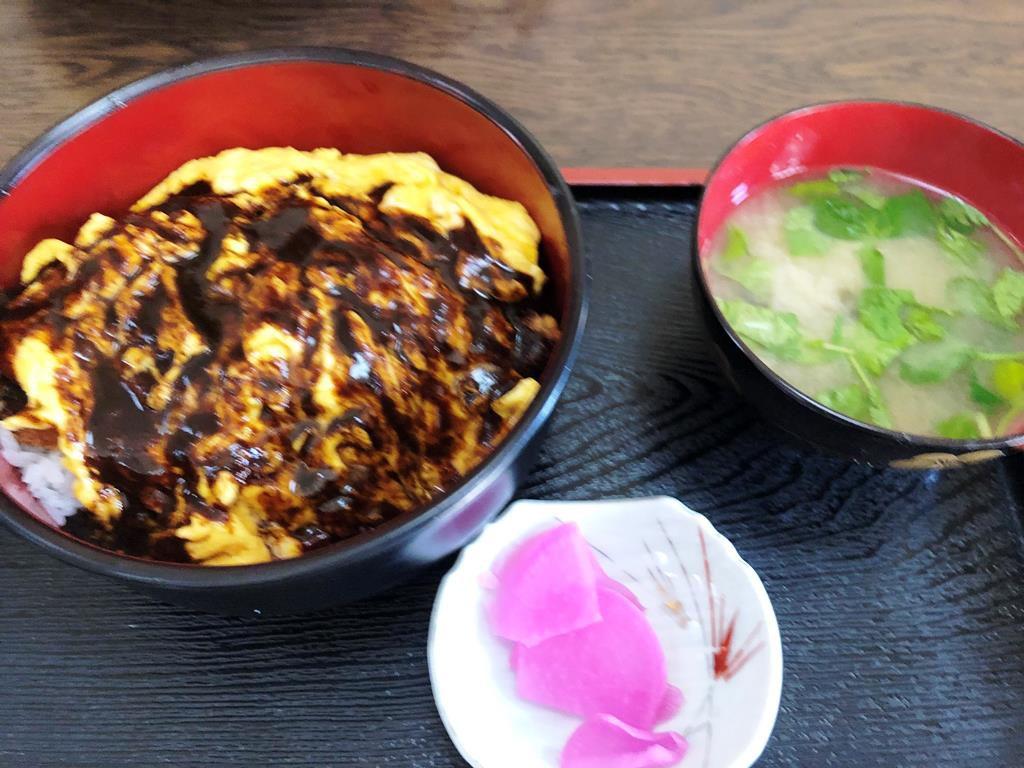 洋風カツ丼