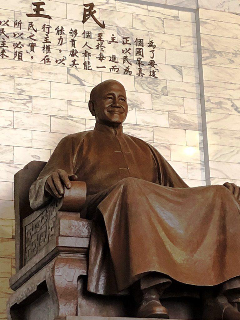 中正紀念堂 蒋介石像