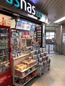 池田駅売店